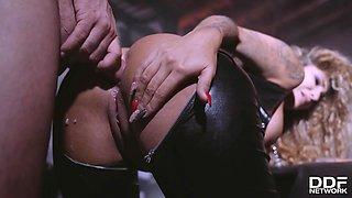Pablo Ferrari & Venus Afrodita in Chained & Ass Fucked - KINK
