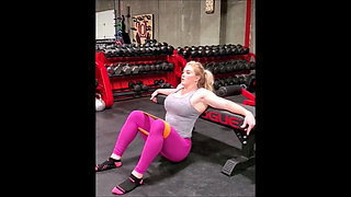 Brittany Diamond - Strong Woman with Monster Curves - Update