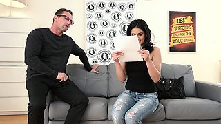 EXPOSED CASTING - Serbian babe gets fucked in hot audition