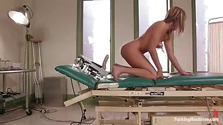 fucking machine sex with an insatiable blonde
