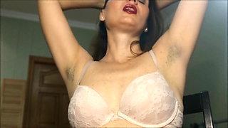 Horny Italian Wife Teasing Armpit Lovers
