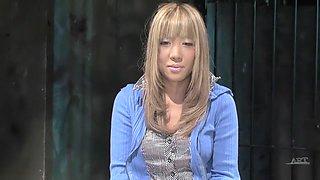 Fabulous Japanese model in Amazing HD, Blonde JAV video