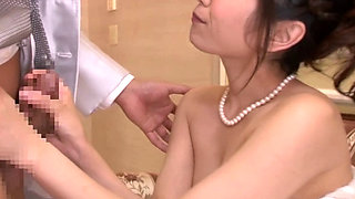 Asian bride fucked At the Wedding Party