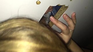 Nice gloryhole action