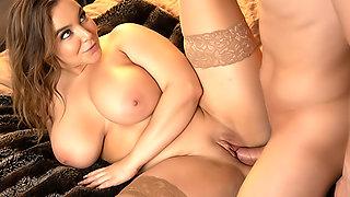 Alex misses Natasha Nice's massive tits bouncing on his cock!!
