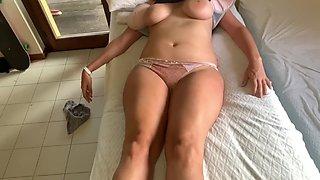 Woke up and fucked a chubby blonde Latina