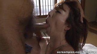 Reiko Sawamura hot mature Asian chick in bondage