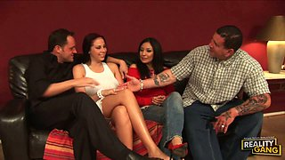 Frankie Vixen and Gianna Michaels make everybody happy!