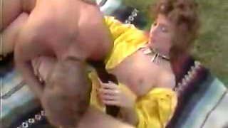 Incredible double penetration retro video with Max De Longue and Keisha
