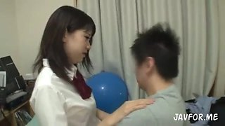 My family' members fuck me always with condom 2 ( family incest jav)