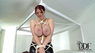 Mistress Bites Vanessa\'s Nips