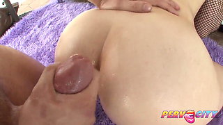 PervCity Red Head Anal Threesome