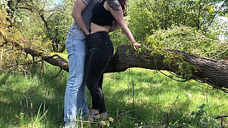 Public Sex In The Forest With Wife LeoKleo