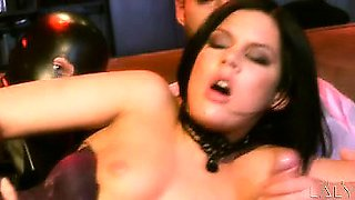 Laly Vallade enters the amazing world of glamour porn!
