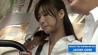 Japanese MILF On The Public Bus