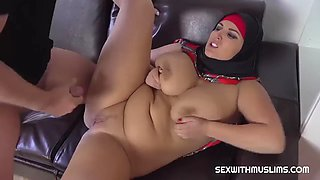Muslim chubby cheating wife fuck