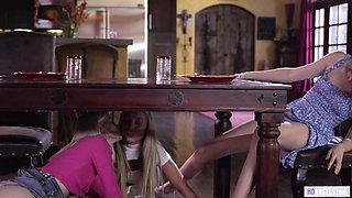 Charlotte Stockely and Aidra Fox want Elena Koshka's pussy