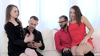 Anal Butt Plugs and Anal Foursome For The First Time