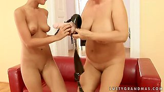 Bold babe Astrid is fucking on tape