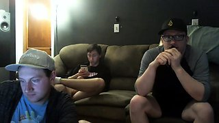 Lustful gay friends show off their amazing blowjob skills
