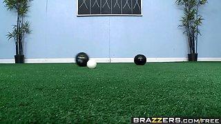 brazzers - big tits in sports -  lawn bowling boobs scene st