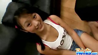 Asian hot babysitter