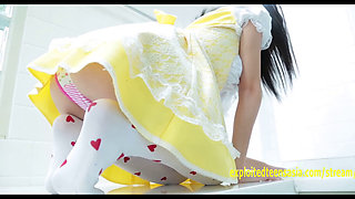 Kasumi Kobayashi Jav Idol Debut Gives You A Peak At Her Panties In Different Outfits Very Cute Teen