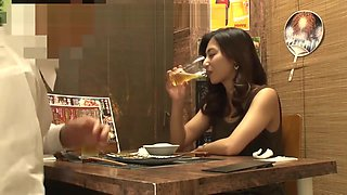 【個撮】【34歳 Cカップ エスttィシャン に中出し】女の性欲を飛躍的に増大させる酒を出す相席系居酒屋 SEX依存禁断症状並【個人・隠し撮り】