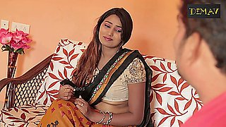 Indian Housewife Aunty Romance with Neighbor