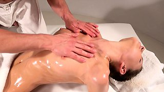 Massage Rooms Big orgasms for wild Russian nympho