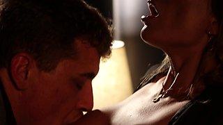 Erotic late night fucking with stunning housewife Shalina Devine
