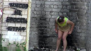 Girls Pissing voyeur video 252