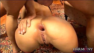 Naughty Asian babe gets her asshole destroyed