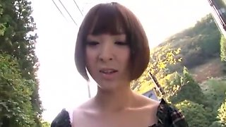 Best Japanese girl in Amazing Outdoor, Public JAV video