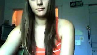 Young russian teen naked on webcam